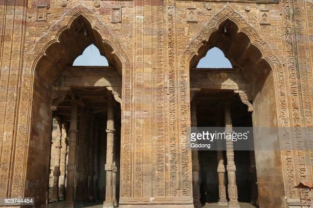 Ruins of Adhaidinkajhonpra mosque Ajmer Rajasthan India