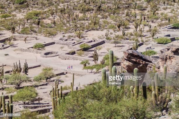 ruins ancient preinca town quilmes argentina