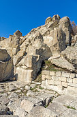 amazing view ruins ancient thracian city