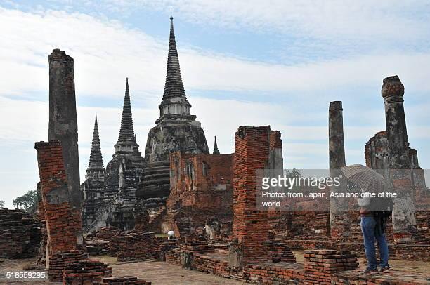 Ruins of Ayuthaya: Wat Phra Sri Sanphet