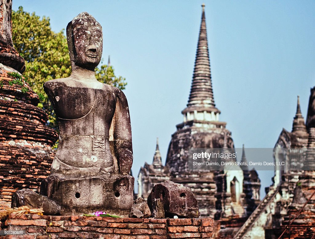 Ruins of Ayutthaya : Stock Photo
