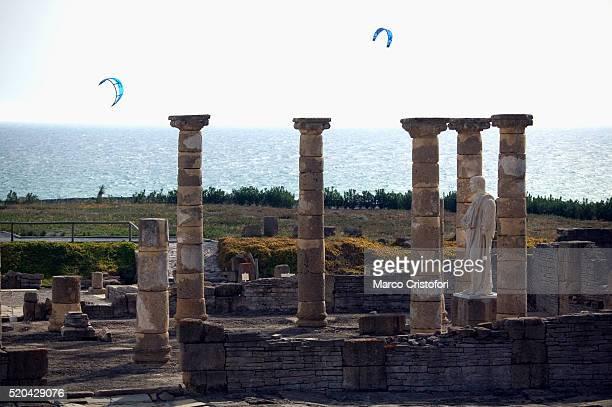 ruins of baelo claudia - marco cristofori fotografías e imágenes de stock