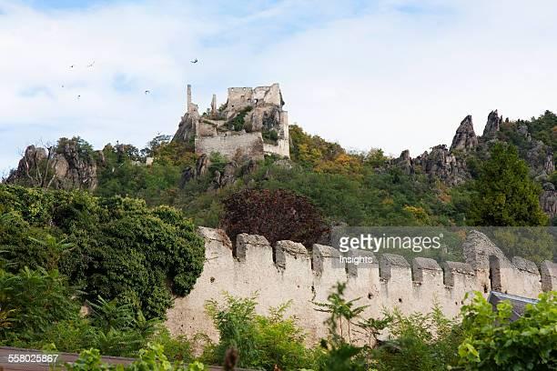 Ruins of Burg Durnstein Castle Duernstein in Wachau Lower Austria Austria