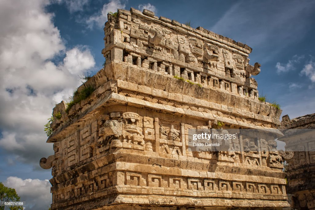 Ruins of Chichen Itza Mexico : Stock Photo