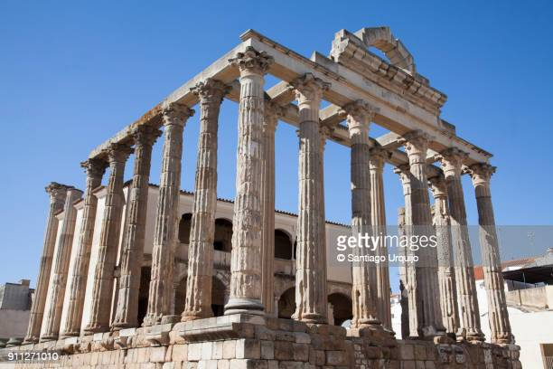 Ruins of Dianas temple in Merida
