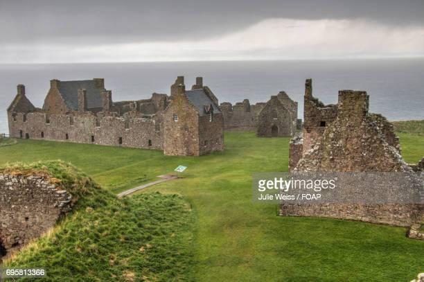 Ruins of dunnottar castle, stonehaven, scotland