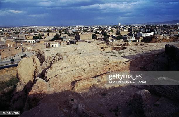 Ruins of Ecbatana Hamadan Iran Achaemenid civilisation 6th century BC