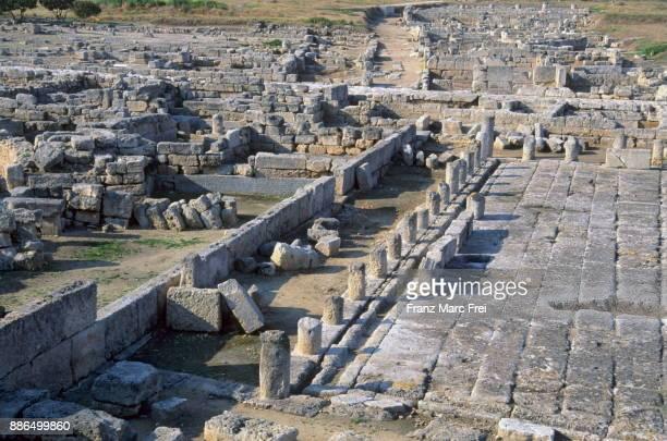 Ruins of Egnazia (Gnathia), near Fasano, Salento, Apulia, Italy