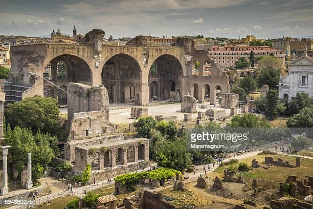 Ruins of Fori Imperiali