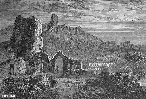 Ruins of Hastings Castle' c1880 The Battle of Hastings was fought on 14 October 1066 between the NormanFrench army of William the Duke of Normandy...
