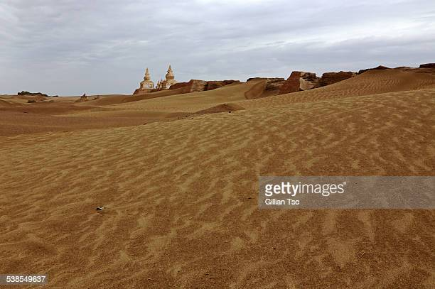 Ruins of Khara Khoto, Gobi, Inner Mongolia, China