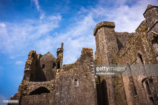 Ruins of medieval castle, Rock of Cashel in Ireland