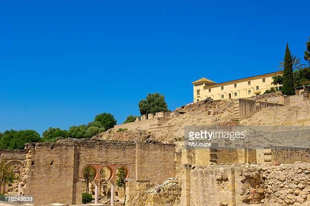 Ruins of Medina Azahara palace built by caliph Abd alRahman III Cordoba Andalusia Spain