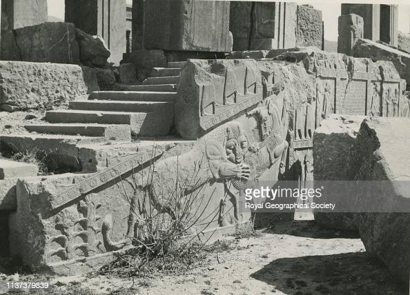 Ruins Of Persepolis Iran Artist George Rendel News Photo Getty Images
