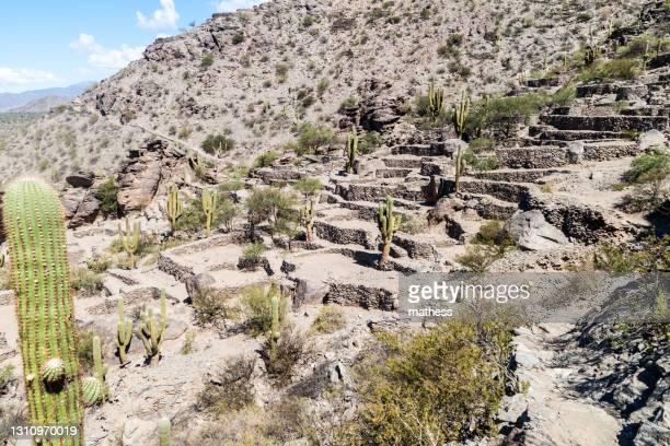 ruins preinca city quilmes argentina