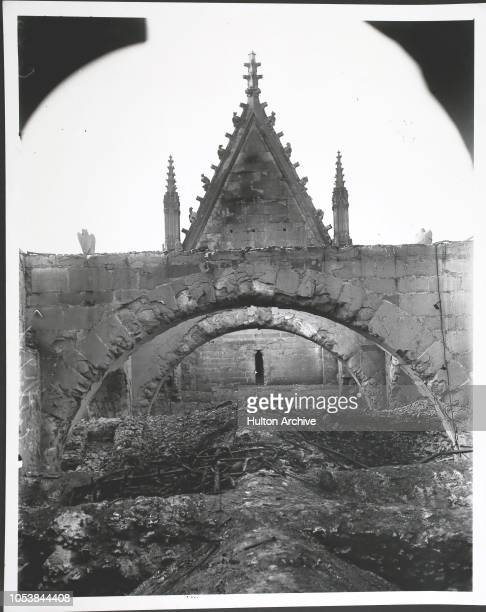 Ruins of Reims Cathedral