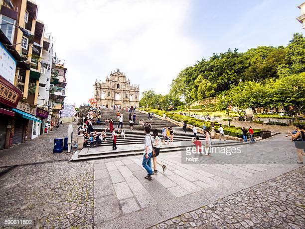 Ruinen von St. Paul's in Macau