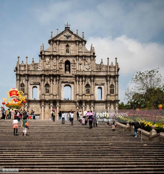 Ruins of St. Pauls in Macau