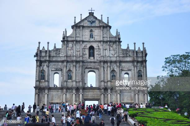 ruins of st. paul's - louisville kentucky stock pictures, royalty-free photos & images