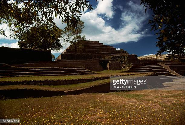 Ruins of Tazumal, Chalchuapa archaeological area, El Salvador. Maya civilisation.
