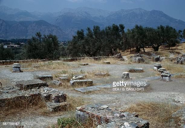 Ruins of the Acropolis of Sparta Greece Greek civilisation 6th century BC