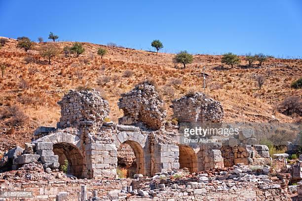 Ruins of the ancient city of Ephesus, Turkey