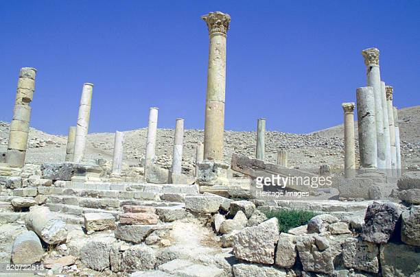 Ruins of the ancient city of Pella Jordan During Roman times Pella was one of the cities of the Decapolis a group of ten cities on the eastern edge...