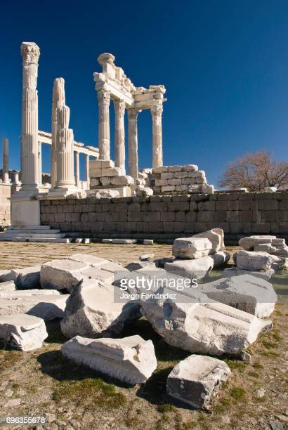 Ruins of the ancient Roman city of Bergama