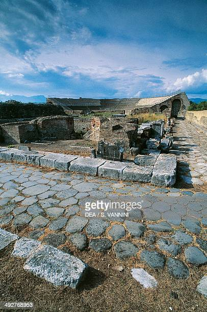 Ruins of the Appian Way Minto Lazio Italy