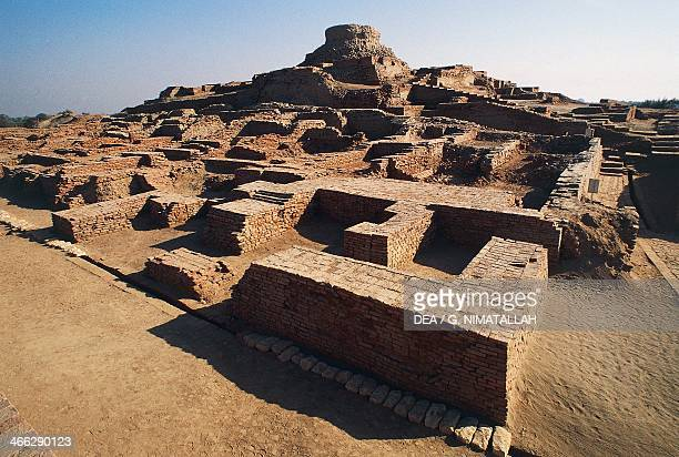 Ruins of the archaeological site of Harappa Indus Valley civilisation 3rd millennium BC Punjab Pakistan