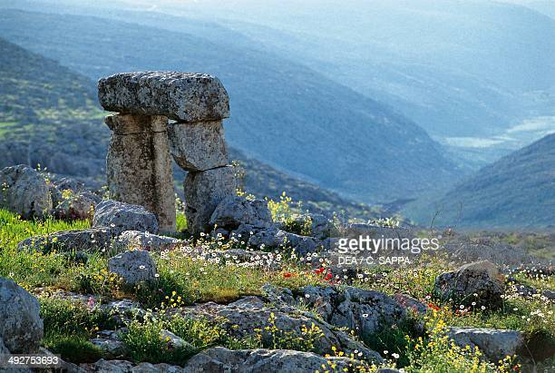 Ruins of the dead city of Baqirha Syria Roman and Byzantine civilisations 2nd6th century