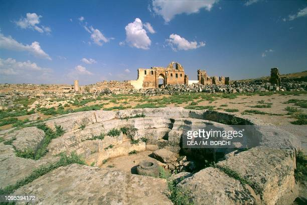 Ruins of the Great Mosque, Harran, Turkey, 9th-12th century.