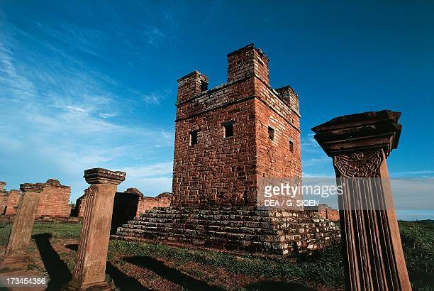 Ruins of the Jesuit Missions of the Most Holy Trinity of Parana and Jesus of Tavarangue Itapua Paraguay