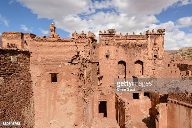 Ruins of the Kasbah of el Glaoui, Telouet, Morocco