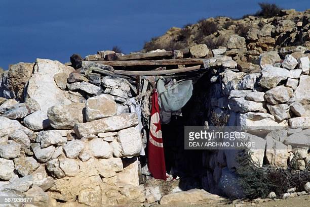 Ruins of the Ksar of Sedra Tunisia