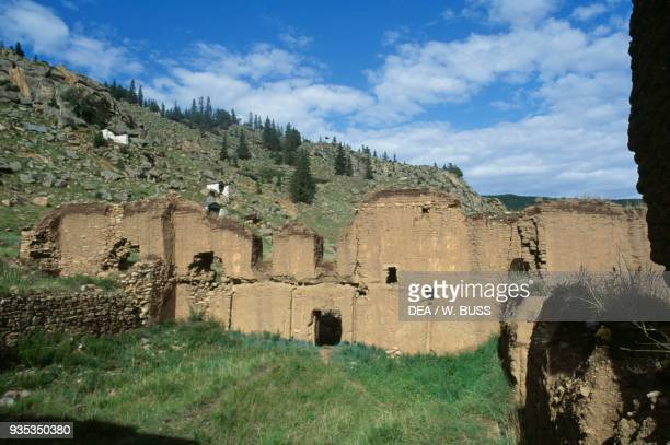 Ruins of the Manjusri Monastery Mongolia.