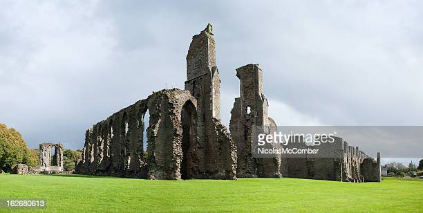 Ruins of the Neath Abbey Panorama
