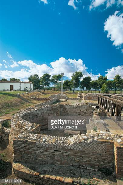 Ruins of the Roman Baths Venosa Basilicata Italy Roman civilization 1st century