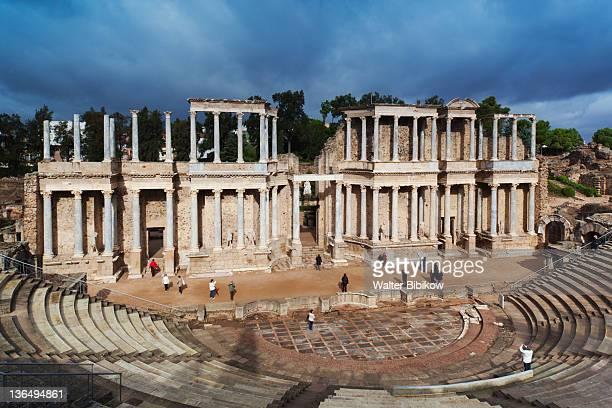 ruins of the Teatro Romano
