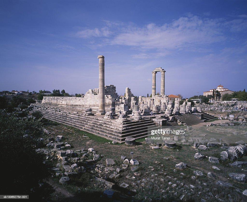 Ruins of the Temple of Apollo : Foto stock