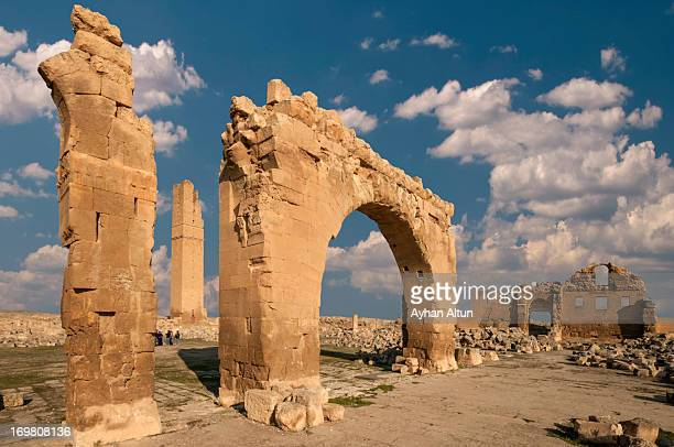 ruins of the university at harran - şanlıurfa stock pictures, royalty-free photos & images