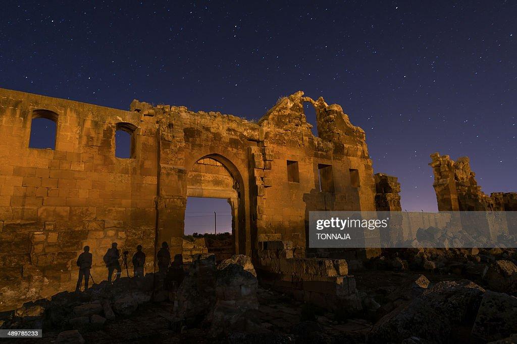 Ruins of the university of Harran : Stock Photo