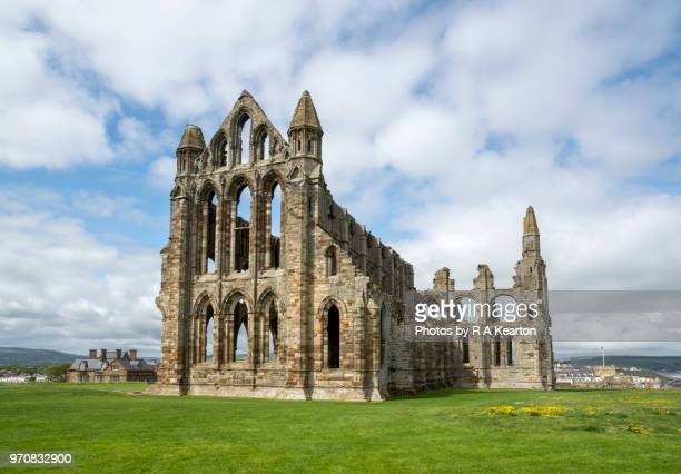 Ruins of Whitby Abbey, North Yorkshire, England