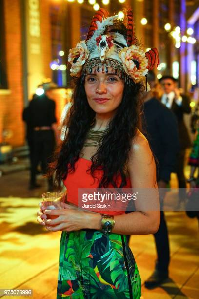 Ruiz attends the 2018 High Line Hat Party at the The High Line on June 14 2018 in New York City