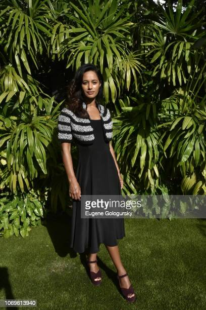 Rula Jebreal attends Dr Hauschka x FELDER FELDER Press Lunch during Art Basel Miami Beach 2018 for the launch of a new partnership of sustainability...