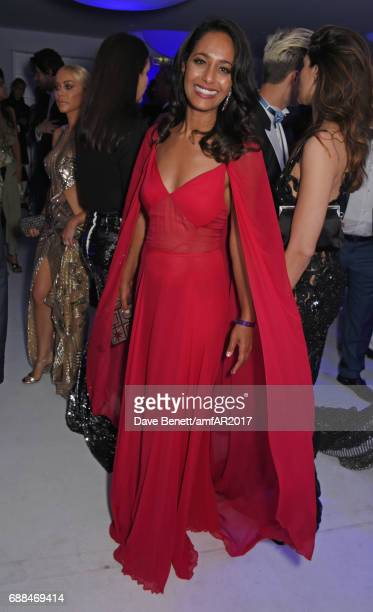 Rula Jebreal attends the amfAR Gala Cannes 2017 at Hotel du CapEdenRoc on May 25 2017 in Cap d'Antibes France