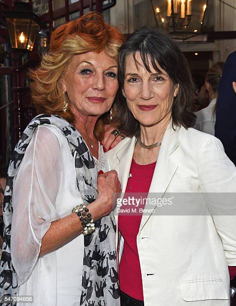 Rula Lenska and Dame Harriet Walter attend as Freddie Fox and friends perform sonnets that have inspired them as actors on the stunning terrace at...