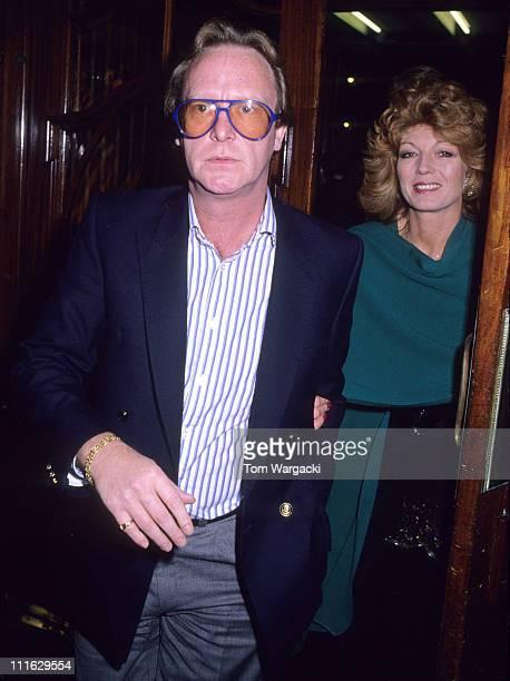 Rula Lenska and Dennis Waterman during Rula Lenska and Dennis Waterman at Buddy Musical October 29 1989 in London Great Britain