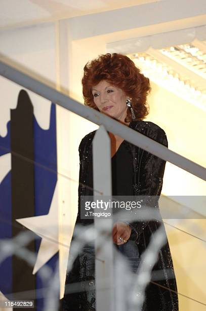Rula Lenska during Celebrity Big Brother 4 Third Eviction at Elstree Studios in London Great Britain