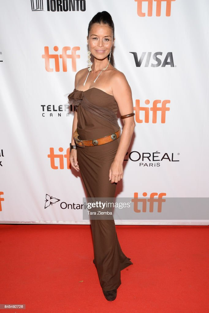 Rulan Tangen attends the 'Woman Walks Ahead' premiere during the 2017 Toronto International Film Festival at Roy Thomson Hall on September 10, 2017 in Toronto, Canada.